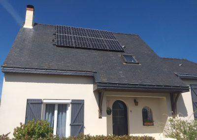 Exemple panneaux photovoltaïque vendée