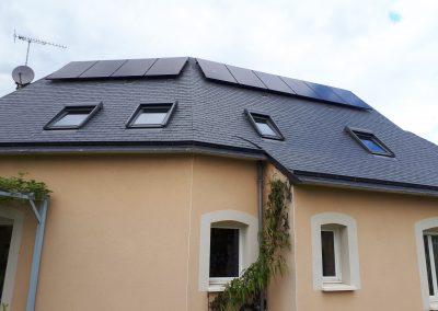 Exemple panneaux photovoltaïque angers