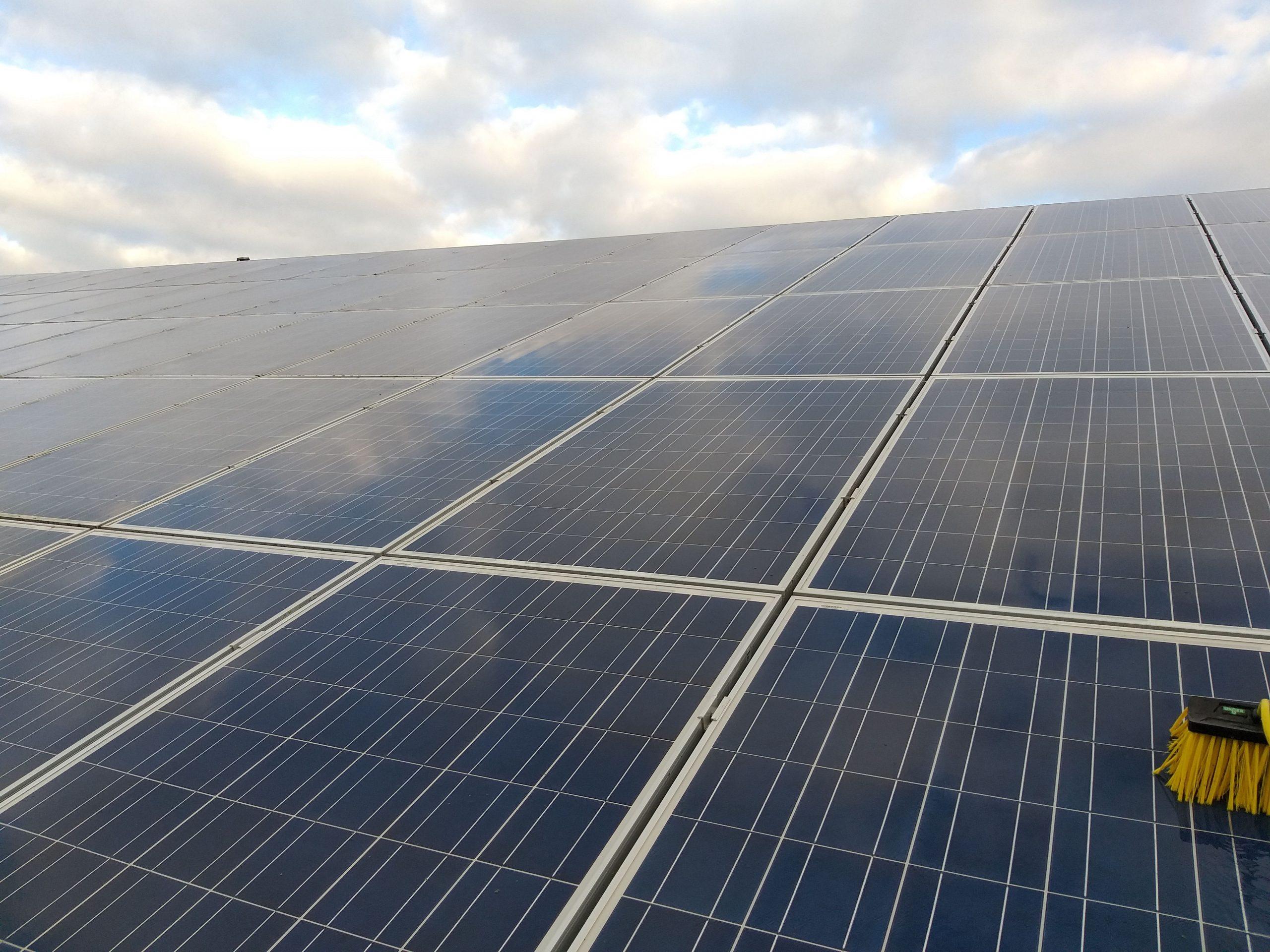 Nettoyage panneaux photovoltaïque Pays de la Loire