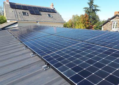 panneaux photovoltaïque campagne maine et loire