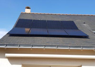 Installation de panneaux solaires photovoltaïques Angers 49