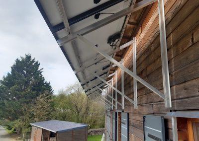 Installation de panneaux solaires Briollay