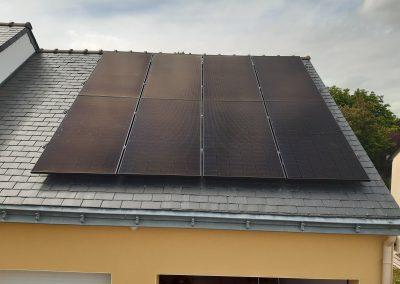 Installation de panneaux solaires photovoltaïque Carquefou