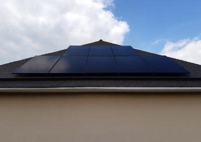 Installation de panneaux solaires en Mayenne Château-Gontier