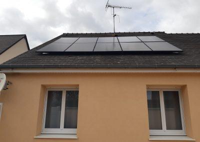Installation de panneaux solaires Coudray