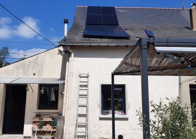Installation de panneaux solaires photovoltaïque Grez-Neuville