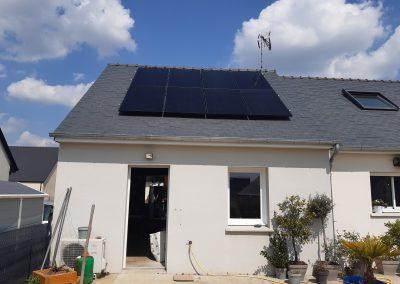 Installation de panneaux solaires Laigné