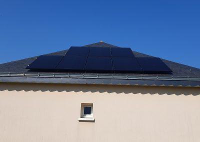 Installation de panneaux solaires photovoltaïque Louvaines