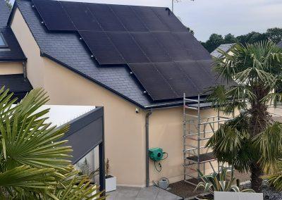 Installation de panneaux solaires photovoltaïque Précigné Sarthe