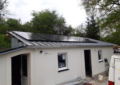 Installation de panneaux solaires Maigné