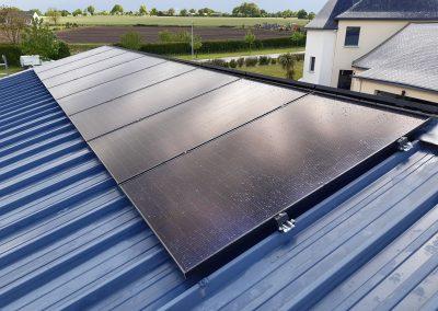 Installation de panneaux solaires Renazé