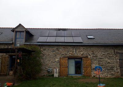Installation de panneaux solaires Val-Erdre-Auxence