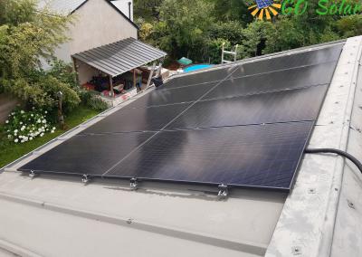 Installation de panneaux solaires maine et loire Savennières