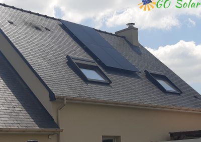 Installation de panneaux solaires Savennières