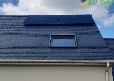 Installation de panneaux solaires La Pommeraye