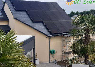 Installation de panneaux solaires photovoltaïque à La Pommeraye 49 département Maine-et-Loire
